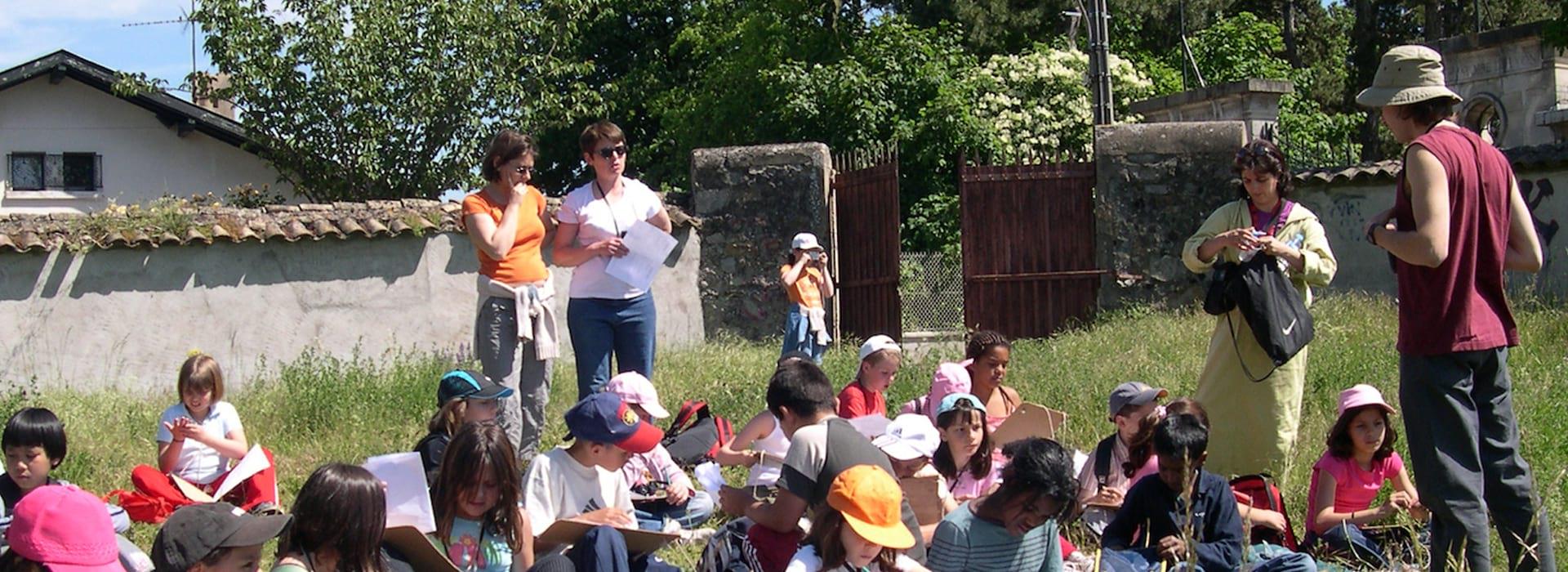 Naturama participe à l'education à l'environnement