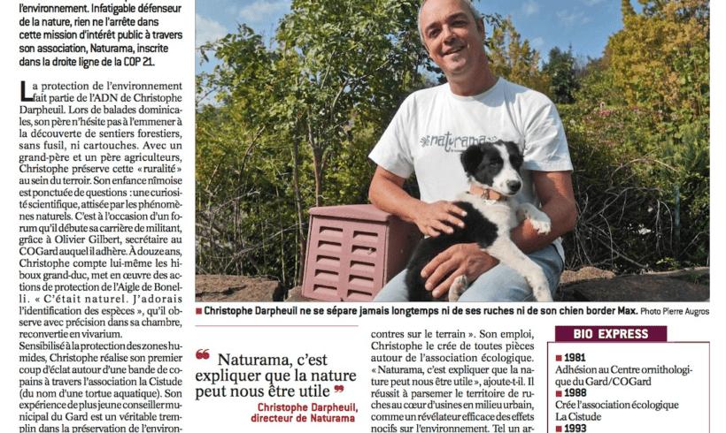 Christophe Darpheuil, un parcours au coeur de la nature