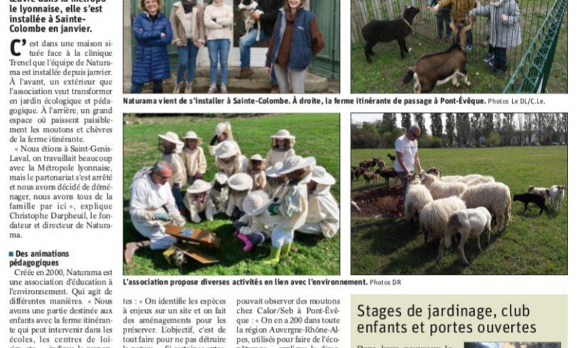 L'association Naturama s'installe en Pays Viennois