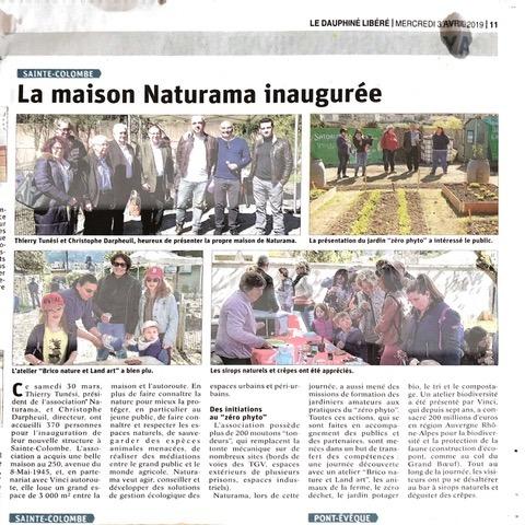 La Maison Naturama inaugurée