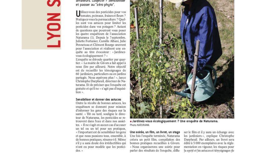 Objectif zero-phyto pour les jardiniers de Givors